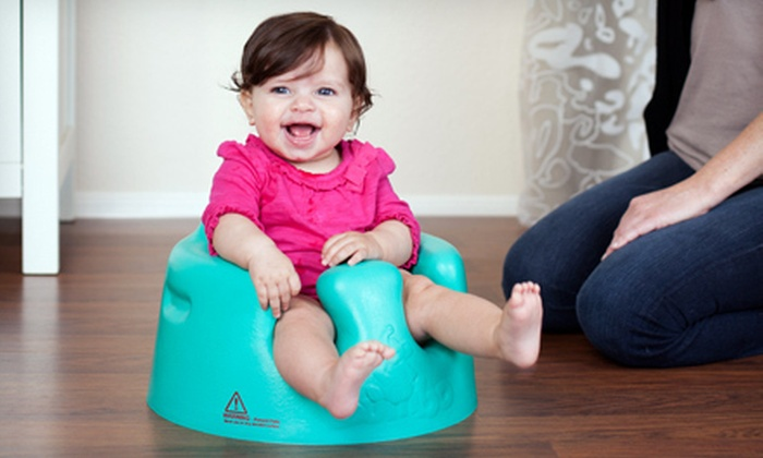 Four-Piece Bumbo Baby Seat Set : $59 for a Bumbo Baby Seat with Two Seat Covers and an Attachable Tray ($96.96 List Price). Free Shipping.