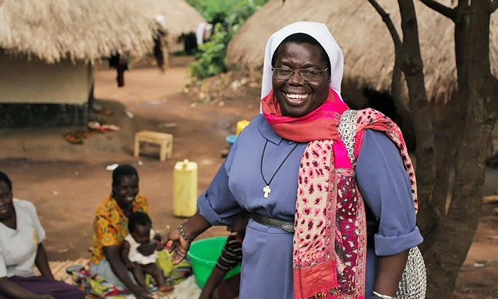 Sister Rosemary Nyirumbe: Sewing Hope in Uganda - The California Theatre: Sister Rosemary Nyirumbe: Sewing Hope in Uganda at The California Theatre on March 9 (Up to 51% Off)