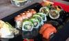 Bony na dowolne sushi z menu