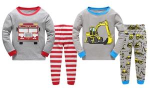Pyjamas en coton pour garçons