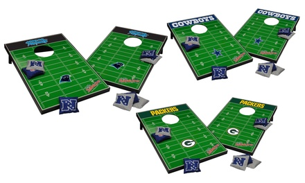 NFL Tailgate Toss with Bean Bags