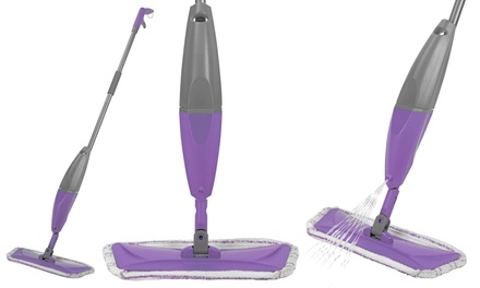 Hard Floor and Tile Spray Mop Cleaner £13.99 or Cleaner With Two Additional Microfibre Heads £16.99