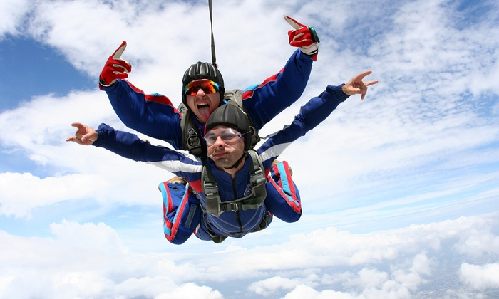 Skydive Jersey - College Hill: Weekday or Weekend Tandem Skydive at Skydive Jersey (Up to 44% Off)