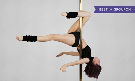 $79 for 10 Classes at Polegression Studios  ($195 Value)