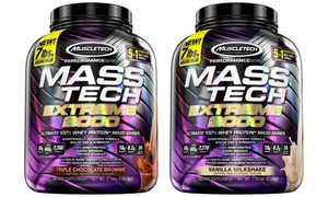 MuscleTech Mass Tech Extreme 2000 (1-, or 2-Pack)