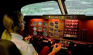 ACS Aviation: 30- or 60-Minute Flight Simulator Experience at ACS Aviation (Up to 54% Off)