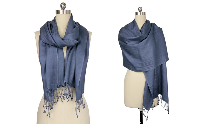 Women's Cashmere-and-Silk Scarf