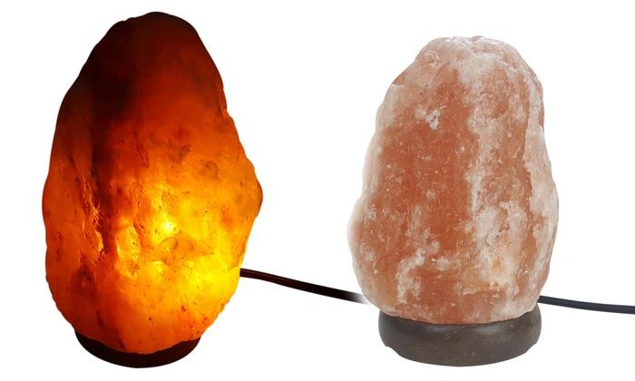 Up To 58% Off On Himalayan Rock Salt Lamps | Groupon Goods
