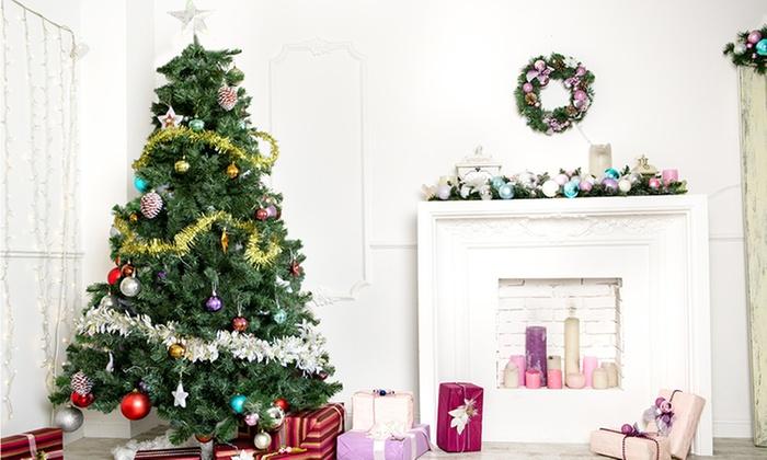 Jusquà 24 Sapins De Noël Artificiel Groupon