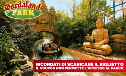 Ingressi Gardaland Park e SEA LIFE