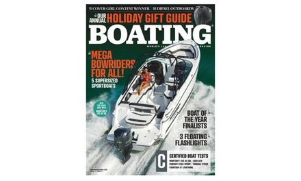 One-Year Subscription to Boating Magazine (88% Off)