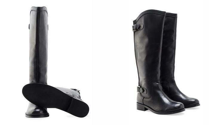 Stiefel im Reiterstil für Damen | Groupon