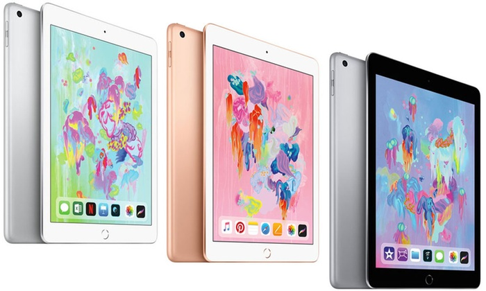 New Apple iPad 9.7″ 2018 in Apple Retail Box and with Apple Warranty With Free Delivery for £317
