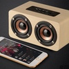 Portable Wooden Bluetooth Speaker