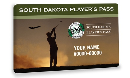 $19.95 for South Dakota Players Pass from South Dakota Golf Association ($29.95 Value)