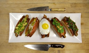 Gourmet Sausages, Hot Dogs, and Other Food at Destination Dogs - Philadelphia (Up to 50% Off).