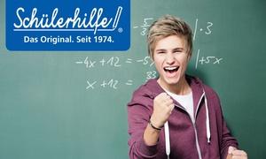 Schülerhilfe: Nachhilfe-Paket für Schüler bei Schülerhilfe plus 10 € amazon.de Gutschein** (75% sparen*)