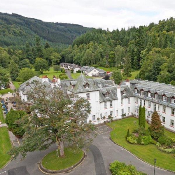 Perth Kinross 1 Night For Two With Breakfast And Spa Access At 4 Dunkeld House Hotel