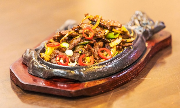 Sizzling Hot Pot Menu