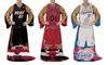 NBA Player Comfy Throw with Sleeves: NBA Player Comfy Throw with Sleeves. Multiple Teams Available. Free Shipping and Returns.