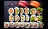 Zestaw sushi: nawet 76 kawałków