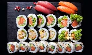 Moshi Moshi Sushi: Wybrany zestaw sushi: 40 kawałków za 89,99 zł i więcej opcji w Moshi Moshi Sushi w Sopocie (do -44%) - 2 lokalizacje