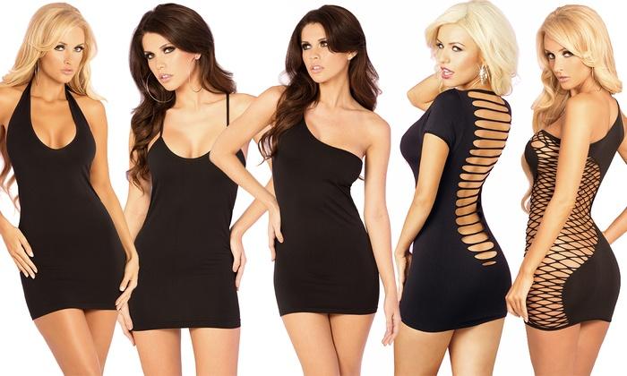 Black Dress Multiple Style 35