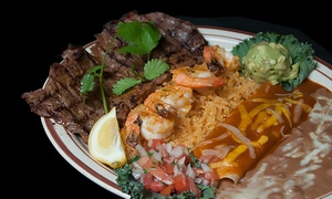 Tequilas Cantina & Grill: Mexican Food and Drinks at Tequilas Cantina & Grill (Up to 43% Off). Two Options Available.