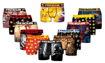 Pack sorpresa de 12 boxers Freegun
