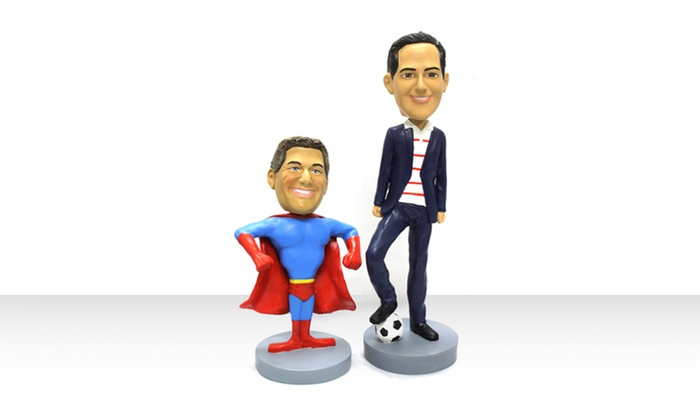 Customized Bobbleheads: CustomizedBobbleheadfrom AllBobbleheads.com. Multiple Sizes from $69.99–$179.99. Shipping Included.
