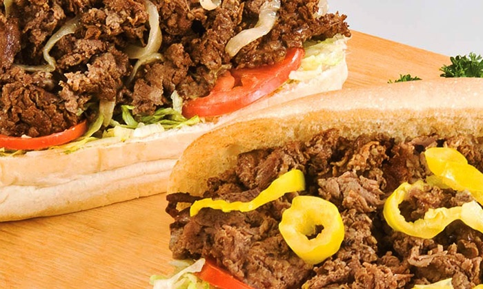Jim's Steakout - Multiple Locations: $15 for a $25 Gift Card for Hoagies, Wings, and American Snacks at Jim's Steakout