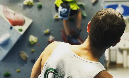 image for One-Hour Climbing, Coaching and Day Pass for One or Two at Catalyst Climbing Limited, Three London Locations (78% Off)