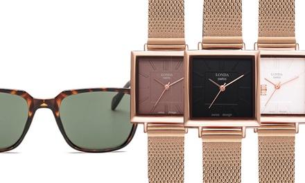 Orologio e occhiali da sole Londa