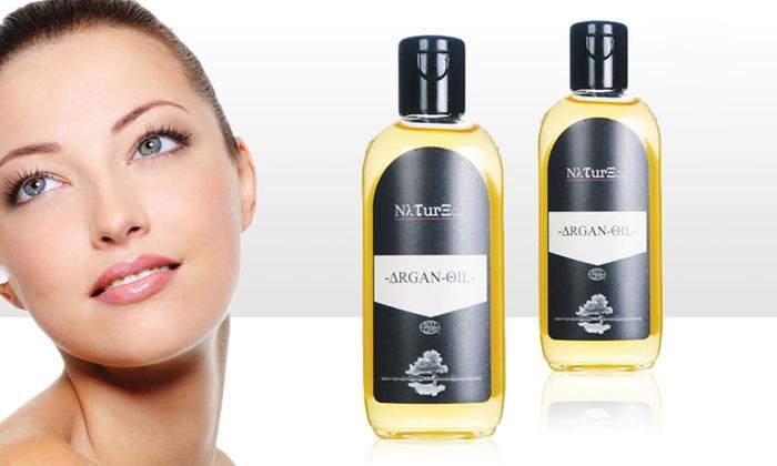 Groupon Goods Global GmbH: 100 ou 200 ml d'huile d'argan Naturess