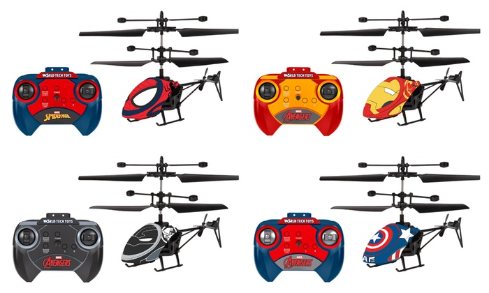 World Tech Toys Licensed 2 Channel Remote Control Ir Mini Helicopter Groupon