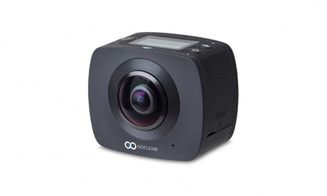 Cámara GoClever Extreme 360 con accesorios