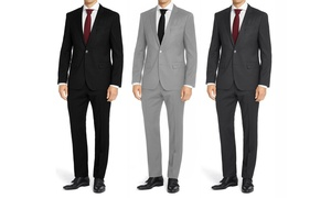 MDRN Uomo by Braveman Men's Classic-Fit 2-Piece Suit