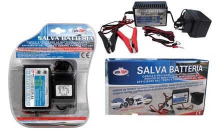 Salvabatteria per auto e moto con easy connector