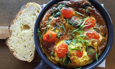 AllDay Breakfast or Lunch for Two $25 or Four People $49 at Pound Cafe Elsternwick Up to $82 Value