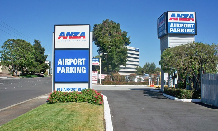 Anza Parking - Anza Parking: Three or Five Days of Airport Parking at Anza Parking (Up to 35% Off)