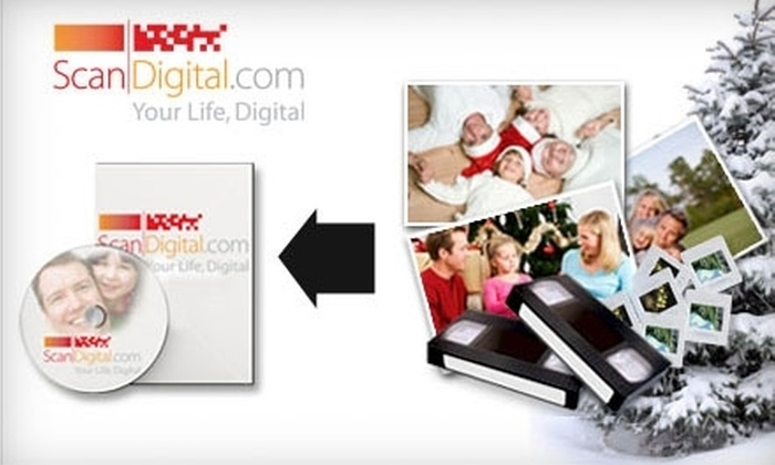 ScanDigital: $40 for $100 Worth of Memory Preservation from ScanDigital Photo and Video Digitization
