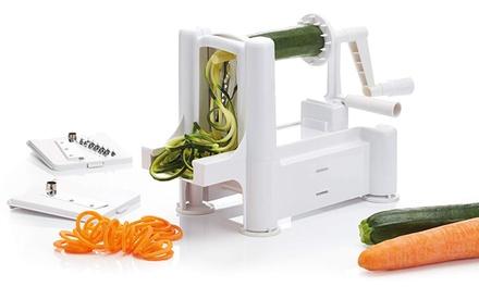 KitchenCraft Vegetable Spiraliser with Three Stainless Steel Blades