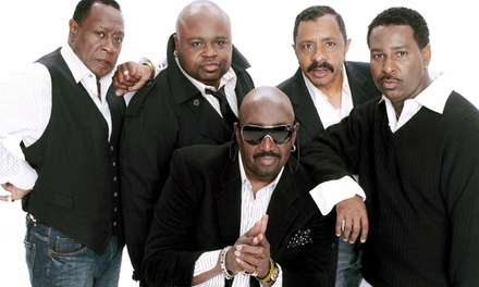 The Temptations with The Four Tops, Mary Wilson & Martha Reeves on August 24 at 8 p.m.