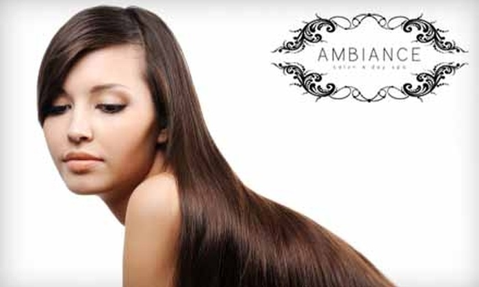 Ambiance Salon and Day Spa - Colonie: $30 for $60 Worth of Salon Services at Ambiance Salon and Day Spa