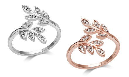 Philip Jones Leaf Ring