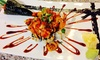Saki - Northeast Oklahoma City: Sushi and Japanese Cuisine at Saki (Up to 42% Off)