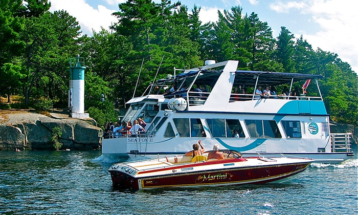 1000 Islands & Seaway Cruises - Brockville: Jewels of the St. Lawrence Cruise for One, Two or Four with 1000 Islands & Seaway Cruises (Up to 50% Off)