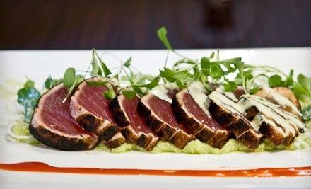 $40 Groupon to Tantra Restaurant & Lounge - Tantra Restaurant & Lounge in Atlanta
