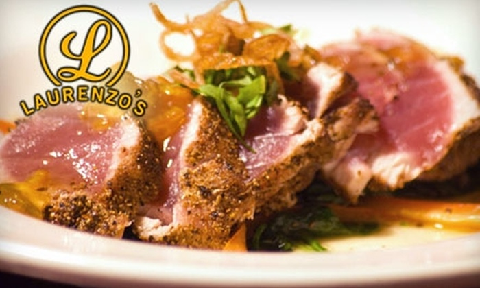 Laurenzo's - Washington Ave./ Memorial Park: $15 for $30 Worth of Prime Rib, Steak, and More at Laurenzo's