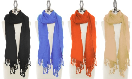 ThreePack of Wool and Silk Scarves for £7.99